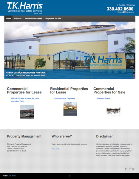 TK Harris Website