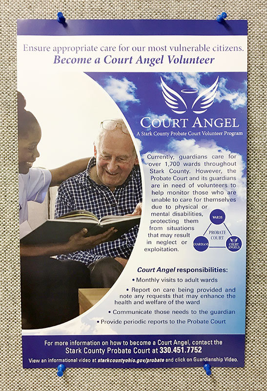 Court Angel Poster