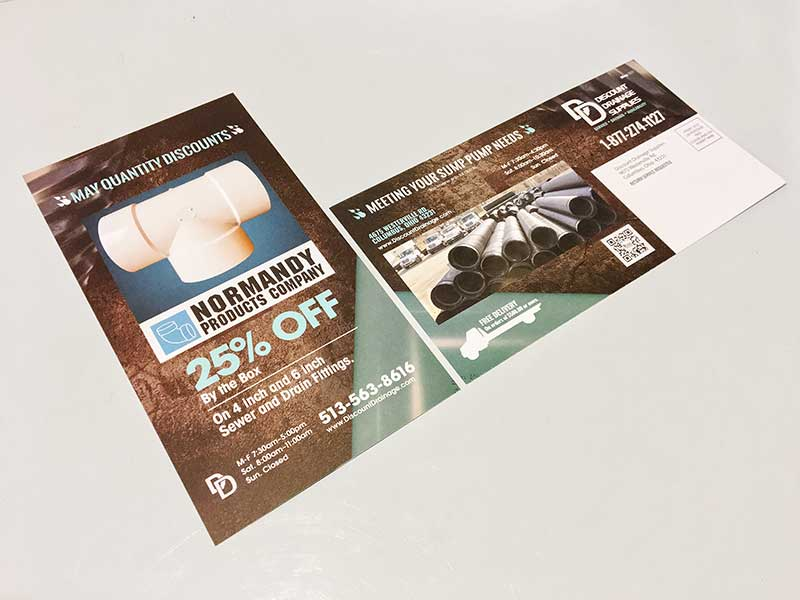 Discount Drainage Monthly 11 x 6 Mailer