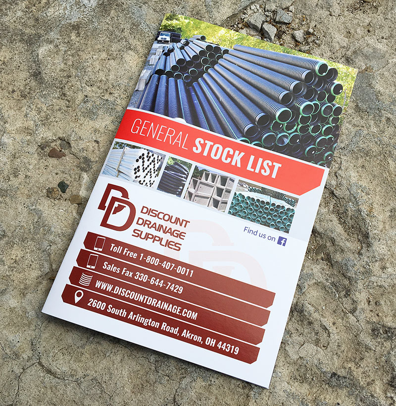 Discount Drainage Supplies Stock List Book
