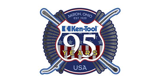 Ken-Tool 95 Year Anniversary Logo