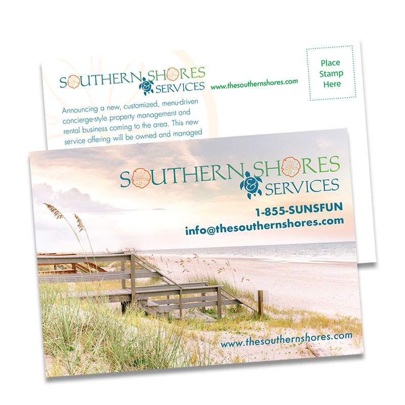 Southern Shores & Services Introductory Postcard