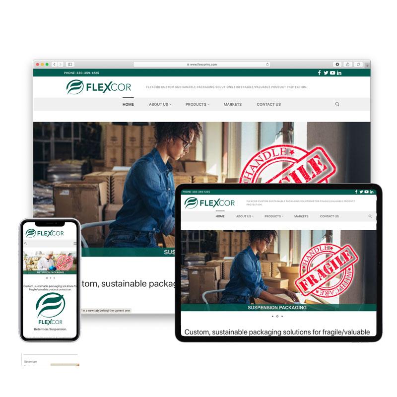 Flexcor Website