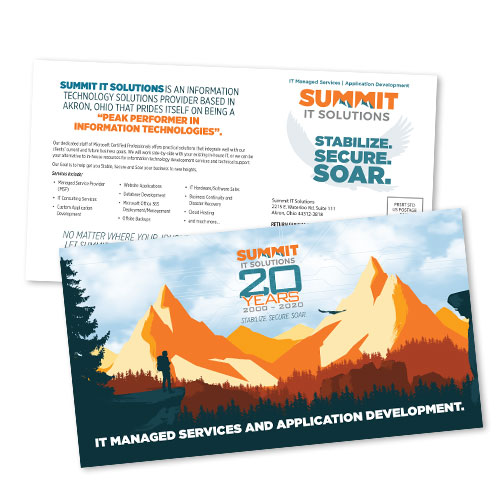 Summit IT Solutions 11×6 Mailer