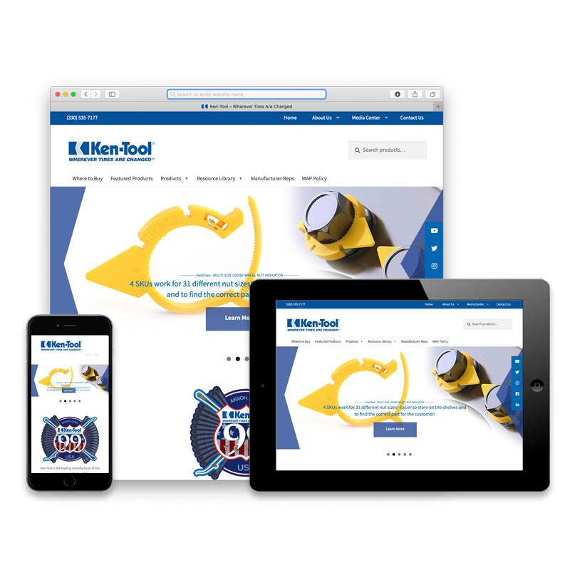 Ken-Tool Website